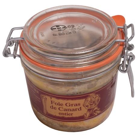 Foie gras de canard entier - bocal 300g
