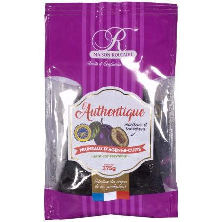 Pruneaux d'Agen mi-cuits L'Authentique - sachet 375g