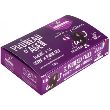 Pruneaux d'Agen fourrés à la crème de pruneaux - Ballotin 125g