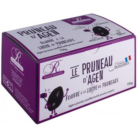 Pruneaux d'Agen fourrés à la crème de pruneaux - ballotin 750g