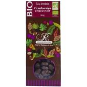 enrobés cranberries choco noir BIO