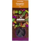 enrobés orangettes choco noir