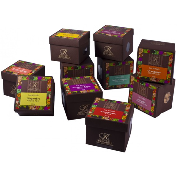 Enrobés chocolat assortiment Lilou