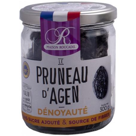 Pruneaux d'Agen dénoyautés - Bocal verre 300g