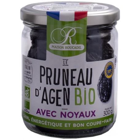 Pruneaux d'Agen BIO - Bocal verre 300g