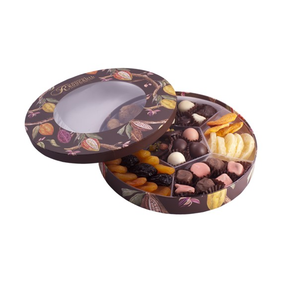 Noël Roucadil - boîte ronde hublot - 560g