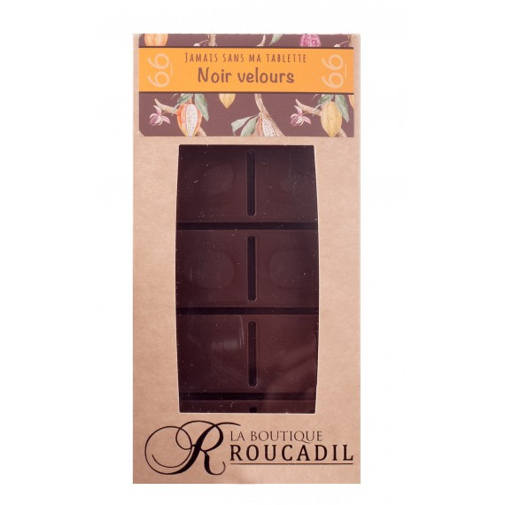 Tablette chocolat velours 66%