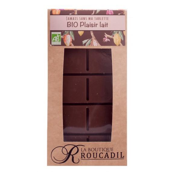 Tablette chocolat au lait Bio