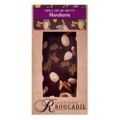 Tablette chocolat noir mendiant