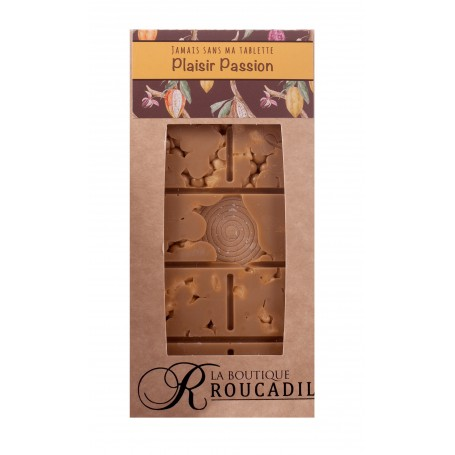 Tablette chocolat Dulcey inspiration passion - 100g
