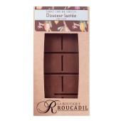 Tablette chocolat au lait sans sucre 100g