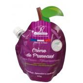Crème de pruneaux - gourde forme prune 375g