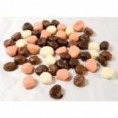 Pruneaux enrobés de chocolat assortis - sachet 500g
