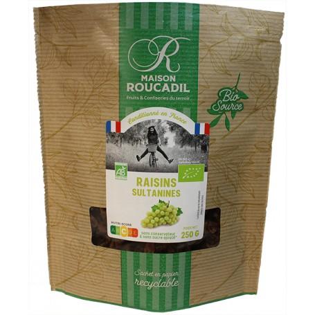 Raisins sultanines BIO - sachet 250g
